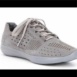 Under Armour Street Precision Suede shoes- Gray